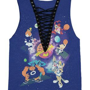 Space Jam Graphic Muscle Tank Size M